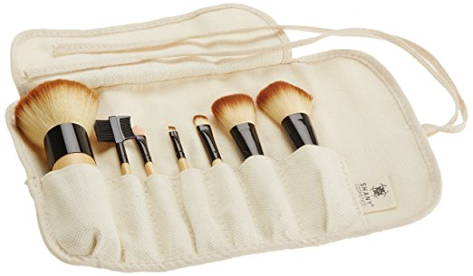 SHANY Bamboo Brush Set with Premium Synthetic Hair, Bamboo Handles and Cotton Pouch review